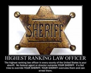 Highest ranking law enforcement officers