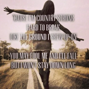 Country Strong Quotes Country strong