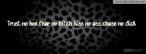 Trust no hoe Profile Facebook Covers
