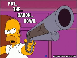 Homer Simpson and His Bacon
