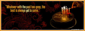 Best is Yet to Come Facebook Cover