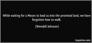 More Wendell Johnson Quotes
