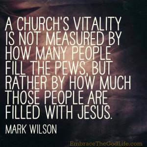 Monday Quote: Church Vitality