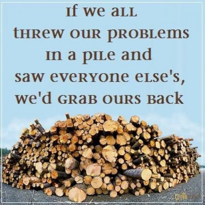 ... and saw everyone else's, we'd grab ours back.