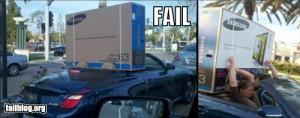 epic fail photos - TV Transportation FAIL