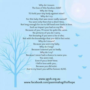 Miscarriage Poems And Quotes