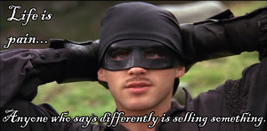 the princess bride has built up a tremendous following in