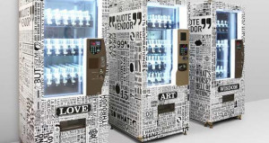 Taiwanese Designer Invents A Book Quote Vending Machine