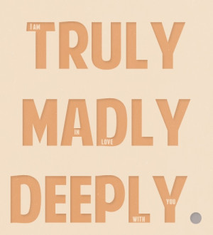 Truly, Madly, Deeply by One Direction