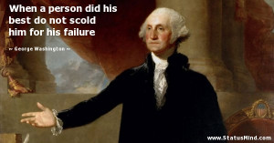 George Washington's 25 Best Quotes