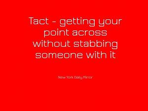 Free Ecards All Sorts Quotes Tact send ecard