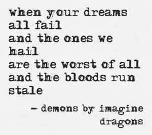 demons by imagine dragons