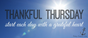 Thankful Thursday Heart...