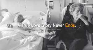 quotes about love A True Love Story Never Ends. - Unknown