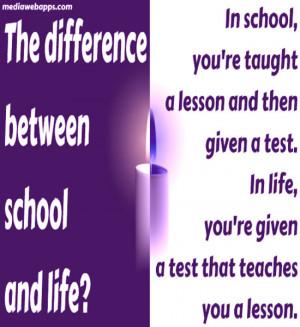 quotes on school memories