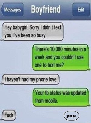 Funny Girls iPhone Mind Blowing Text Fun