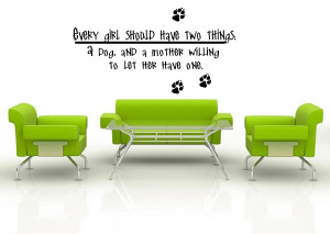 Girl and Her Dog Quotes