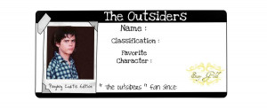 The Outsiders Quotes Ponyboy The outsiders - ponyboy by