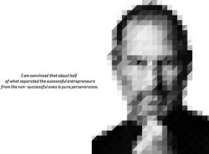 Buy Steve Jobs - Perseverance Paper Print: Poster