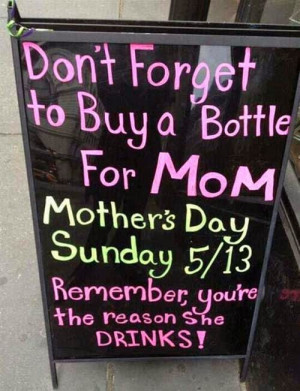 Funny Happy Mother's Day 2014 Quotes From Son Daughter Son-in-law