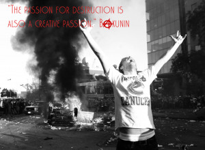 Anarchy Miscellaneous Vancouver With Bakunin S Quote Wallpaper with ...