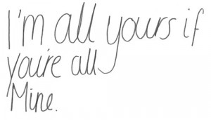 im yours #your mine #text #quotes #typography