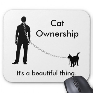 Funny Cat Owner Quote