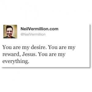 You are my reward, Jesus. #Quote