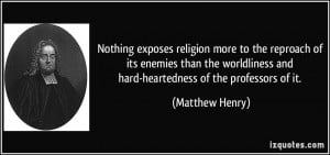 More Matthew Henry Quotes