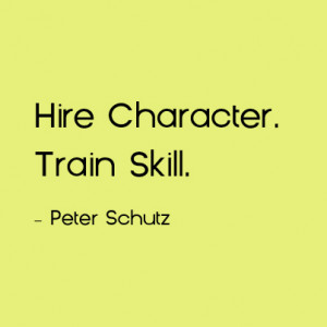 hire character train skill as a leader the next time you think of ...
