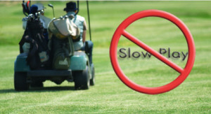 The only problem with golf is that the slow people are always in front ...