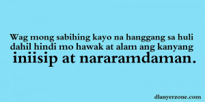New Tagalog Quotes 2013