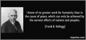 More Frank B. Kellogg Quotes