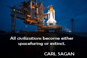 Space travel quote famous