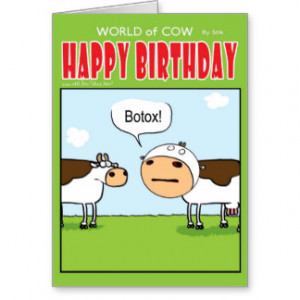 Funny About Botox Cards & More