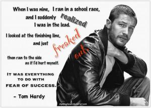 Tom Hardy: Fear of Success by SlashingDasani
