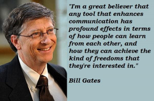 Bill gates famous quotes 1