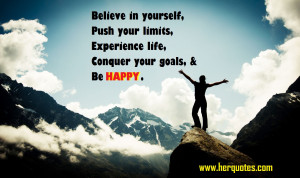 Goals In Life Quotes Life, conquer your goals,