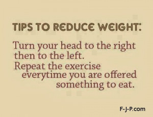 Funny weight reduction loss exercise fitness tip quote - Tips to ...