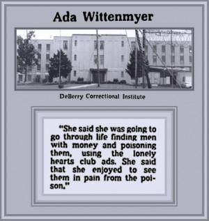 Ada Wittenmyer, Loved to Watch Her Husbands Die: Murdering Men was Her ...