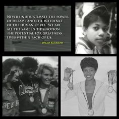 Wilma Rudolph- Quote