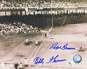 Bobby Thomson Shot Heard around the World