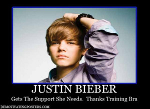 ... funny-posters-posters-Justin-Bieber-training-bra-support-funny-humor