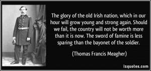 our hour will grow young and strong again. Should we fail, the country ...