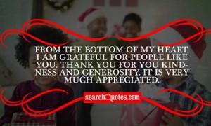 Christmas Thank You Quotes & Sayings
