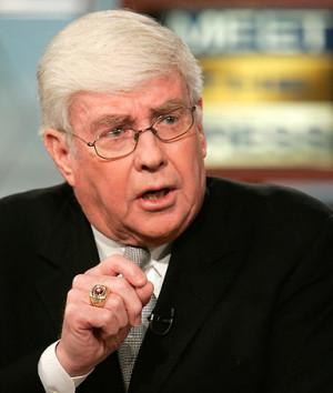 Jack Kemp, former Republican Congressman, criticizing his party's ...