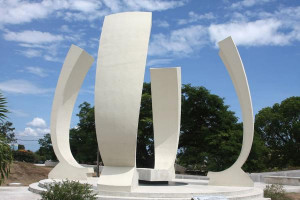 Picture of National Heroes Park (Jamaica): Monument to Donald Sangster ...