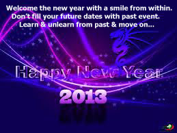Welcome the New Year with a smile from within.