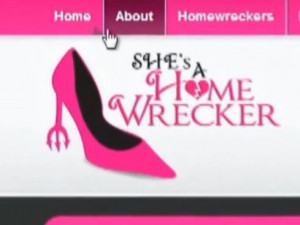 screenshot from the website Shesahomewrecker.com / VPC