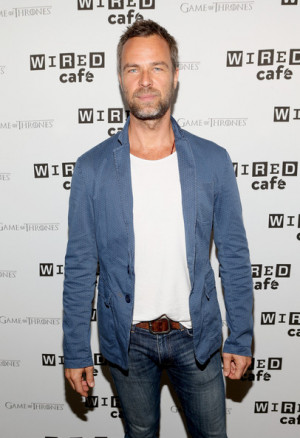 JR Bourne Actor J R Bourne attends day 2 of the WIRED Cafe Comic